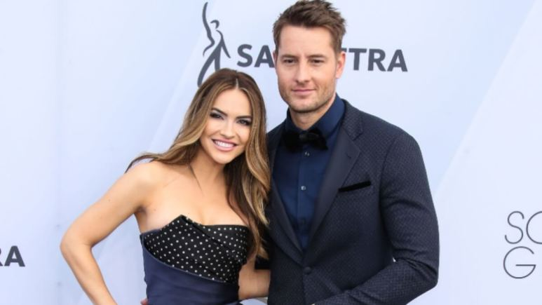 Chrishell and Justin at an event.