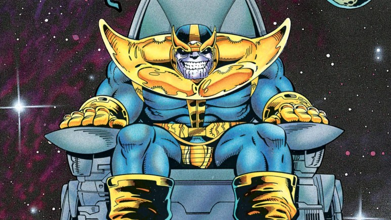 Thanos in The Eternals comic books.