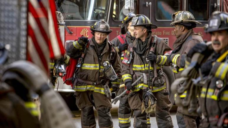 Chicago Fire Cast In Action