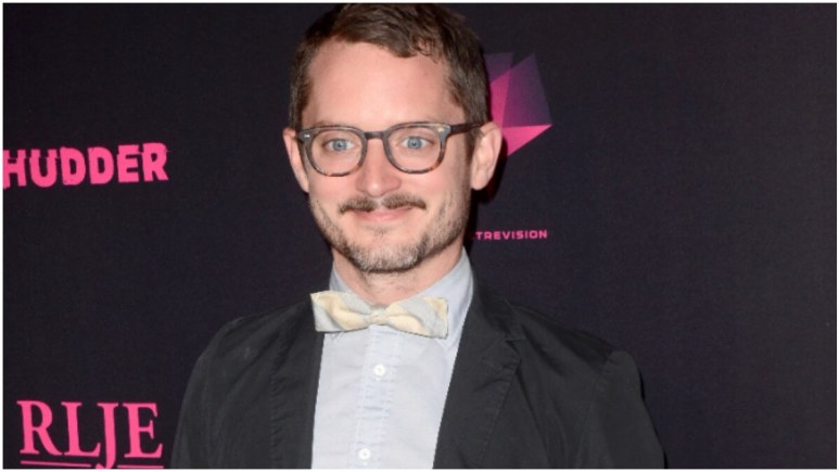 "Elijah Wood at the ""Mandy"" Los Angeles Special Screening at the Egyptian Theater on September 11, 2018 in Los Angeles, CA"