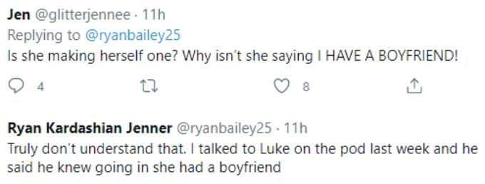 Fans wonder why the drama with Luke happened if Hannah had a boyfriend