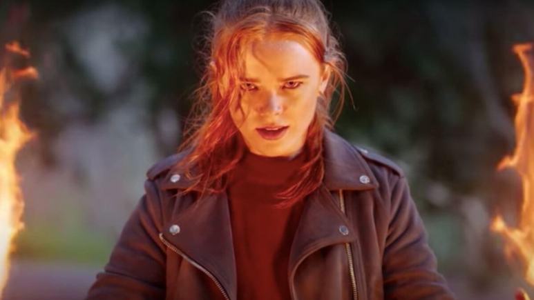 Abigail Cowen as Bloom in Fate: The Winx Saga.