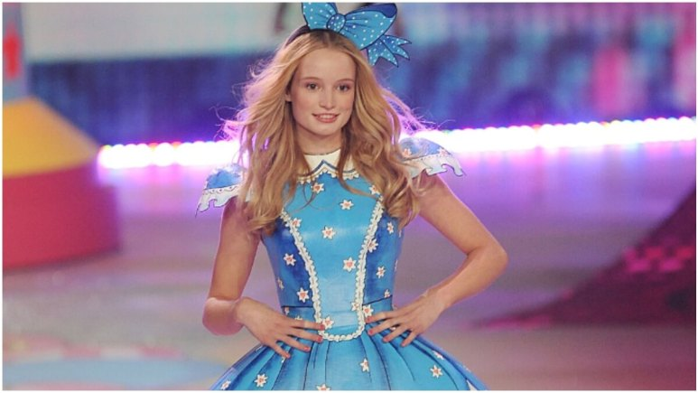 Frida Gustavsson walks the runway during the 2012 Victoria's Secret Fashion Show at the Lexington Avenue Armory on November 7, 2012 in New York City