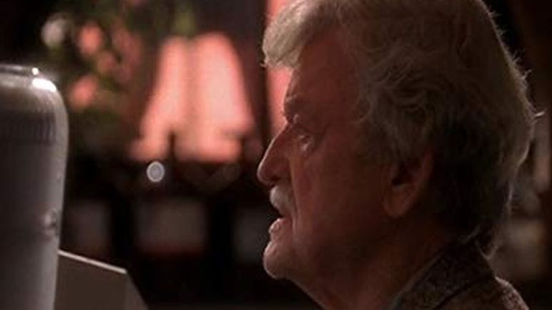 Image of Hal Holbrook in the show NCIS.