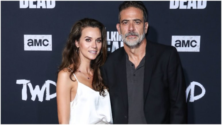 Actress Hilarie Burton and husband/actor Jeffrey Dean Morgan arrive at the Los Angeles Special Screening Of AMC's 'The Walking Dead' Season 10 held at the TCL Chinese Theatre IMAX on September 23, 2019 in Hollywood, Los Angeles, California