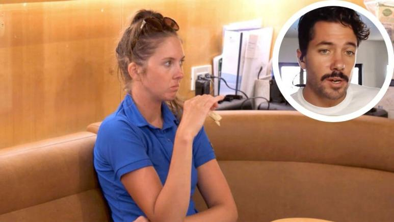 Below Deck; Izzy Wouters calls out Rob Phillips behavior on Bravo show.
