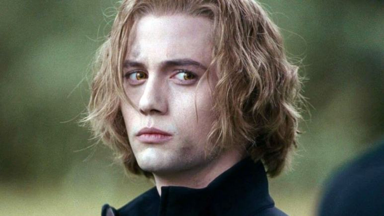 Jackson Rathbone playing Jasper in the Twilight movies.