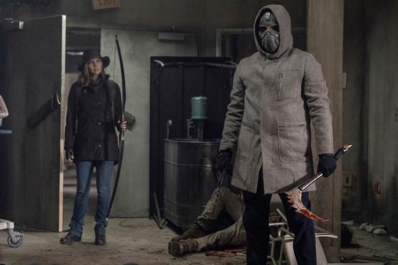 Lauren Cohan stars as Maggie Rhee, as seen in Episode 16 of AMC's The Walking Dead Season 10B