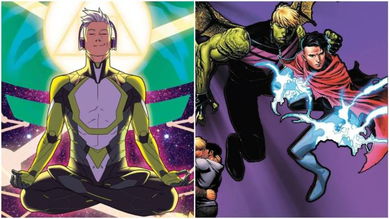 Noh-Varr and Hulkling