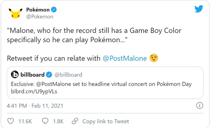 Pokemon Post Malone Twitter