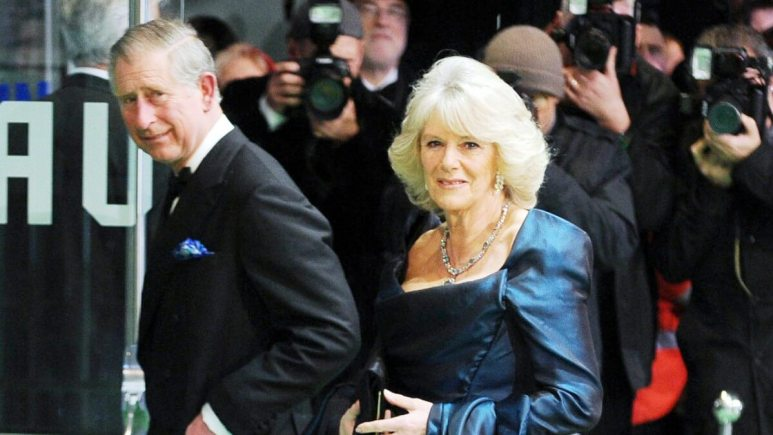 Prince Charles and Camilla attend a public event