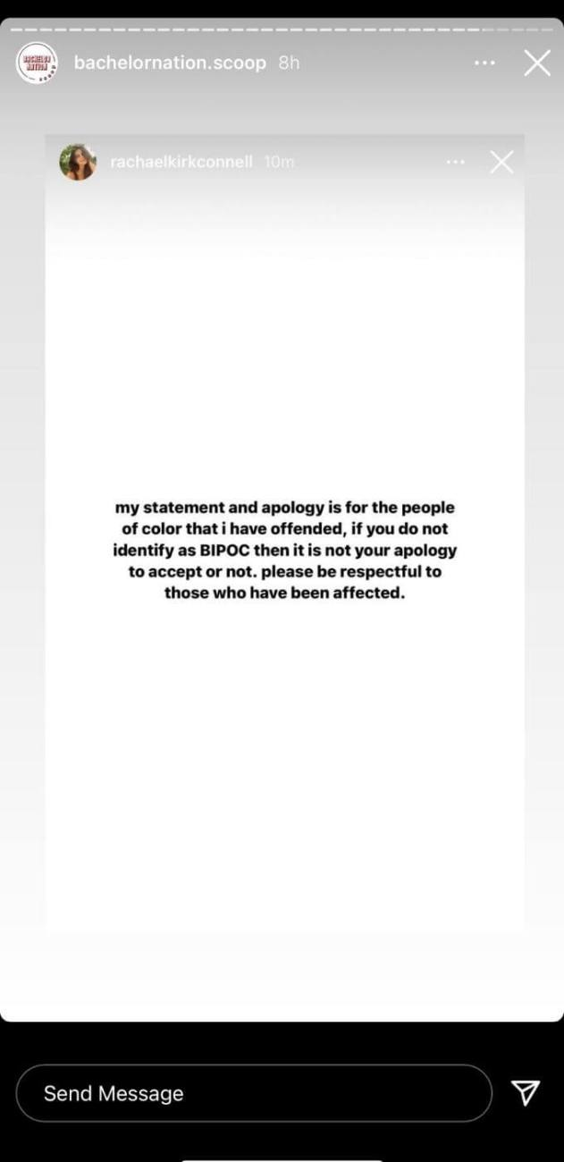 Rachel 2 statement