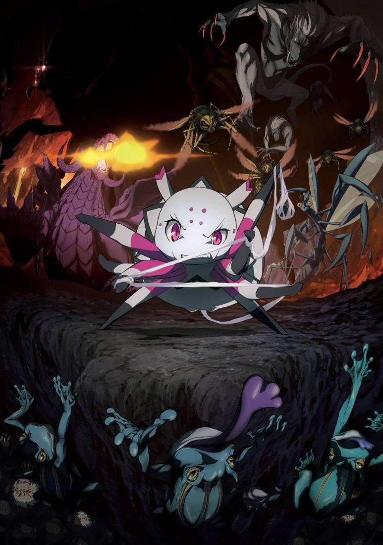 Kumo Desu ga, Nani ka? Anime Key Visual Art Kumoko