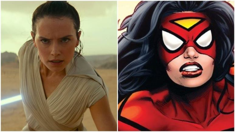 "Daisy Ridley ""would love"" to play Spider-Woman for Sony's ""Spideyverse"""