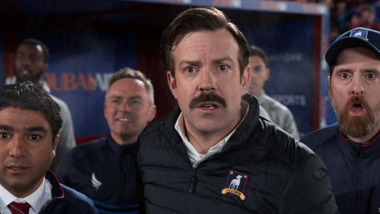 Promotional still from Ted Lasso.