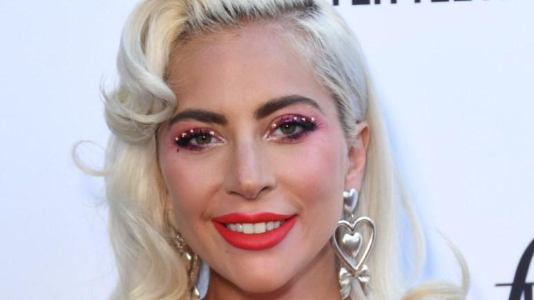 Lady Gaga at awards show in LA