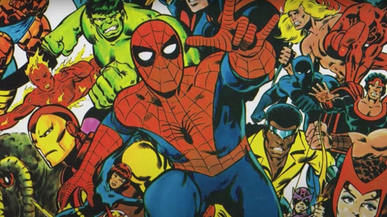Marvel's Behind The Mask trailer comics.