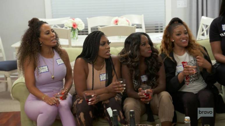 Porsha and Shamea did not want to participate in Kenya's murder mystery.