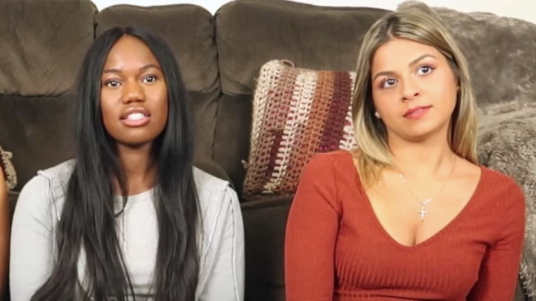 amber martinez and tula big t fazakerley watch double agents episode 8 together