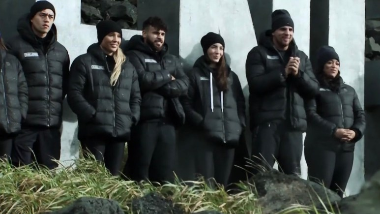 competitors await tj lavin mission details on the challenge double agents episode 9