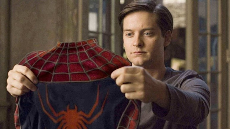 Tom Holland denies Spider-Man 3 Tobey Maguire.