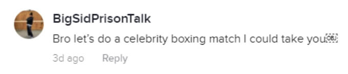 A fan suggests Pauly should do a celebrity boxing match