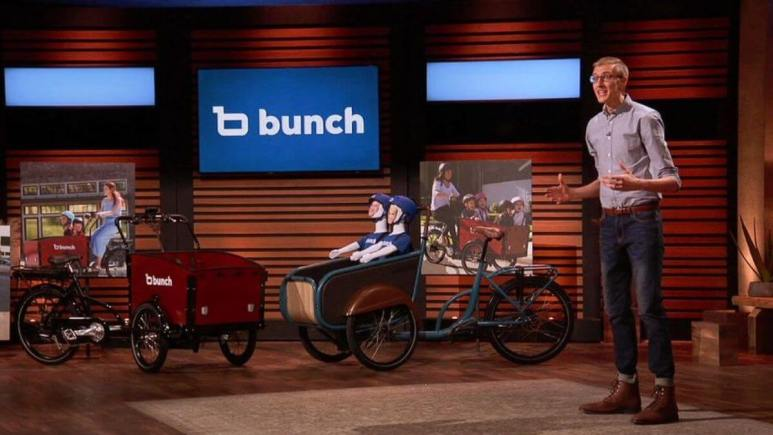 Bunch Bikes is a new electric bike featured on Shark Tank.