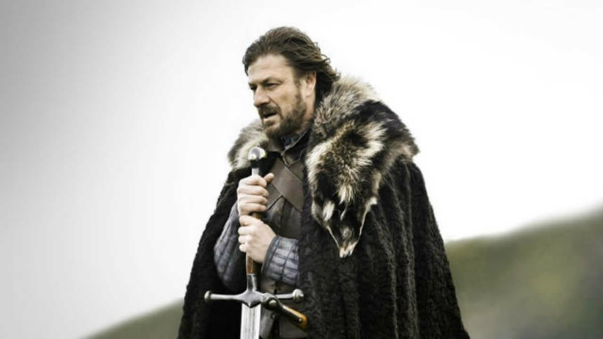 Sean Bean stars as Ned Stark in HBO's Game of Thrones