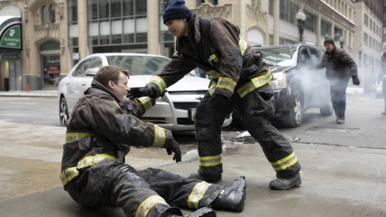 Casey Hurt On Chicago Fire