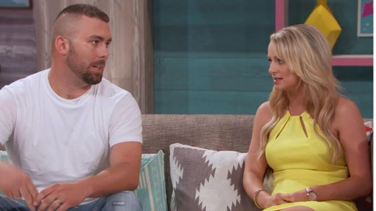 Corey Simms and Leah Messer of Teen Mom OG