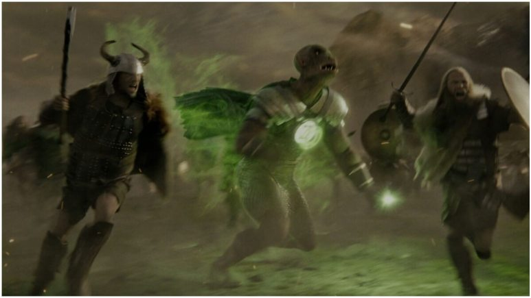 Who is the Green Lantern in Zack Snyder's Justice League?