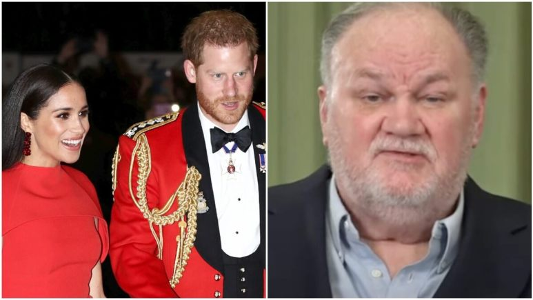 Harry and Meghan and Thomas Markle