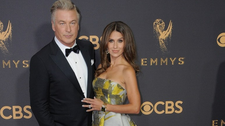 Hilaria and husband Alec Baldwin