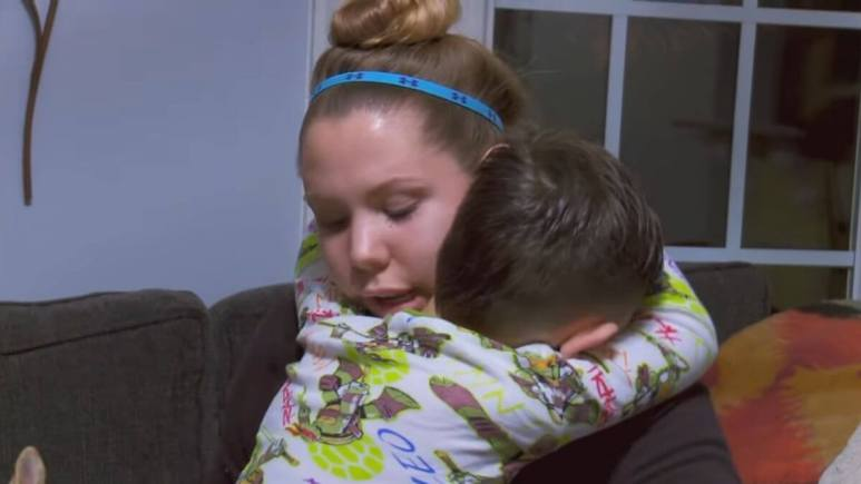 Kailyn Lowry and Isaac Rivera of Teen Mom 2