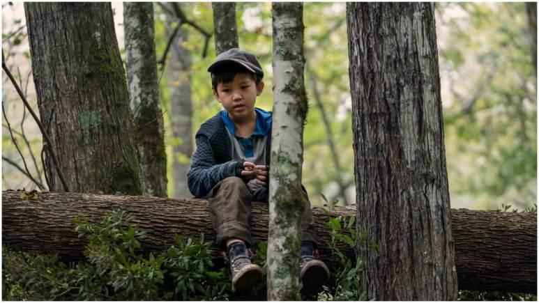 Kien Michael Spiller stars as Hershel Rhee, as seen in Episode 17 of AMC's The Walking Dead