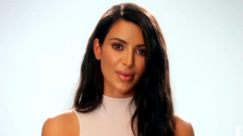 Kim Kardashian of KUWTK