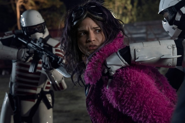 "Paola Laszaro stars as Juanita ""Princess"" Sanchez, as seen in Episode 20 of AMC's The Walking Dead Season 10C"