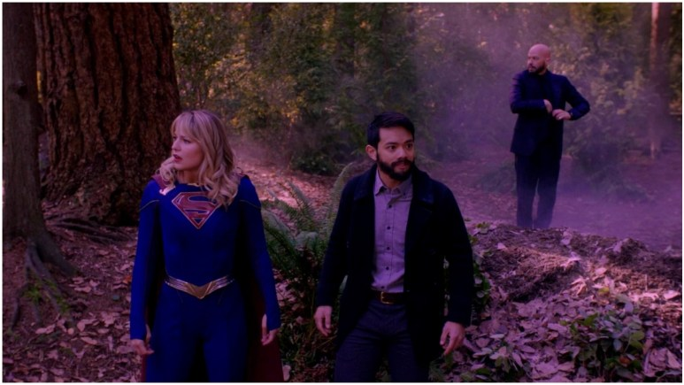 Ryan Choi and Supergirl