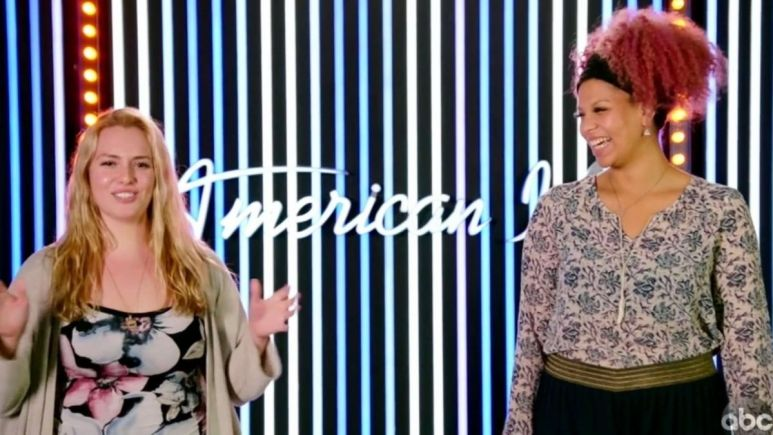 Grace Kinstler and Alyssa Wray were the last to take the stage for American Idol Hollywood Week, and their duet blew the roof off