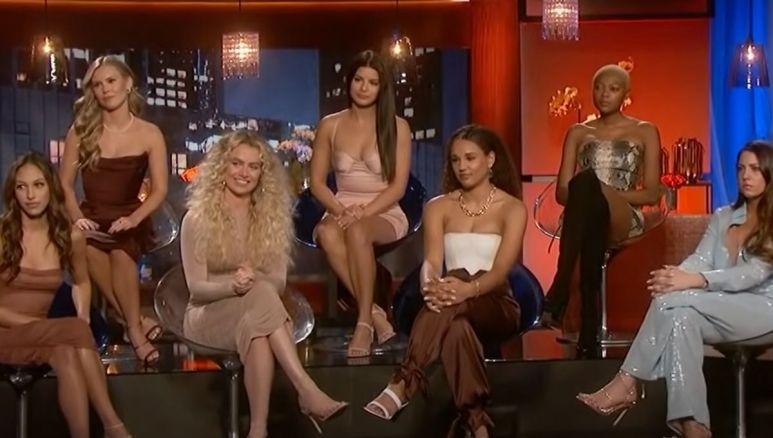 The women from Matt James' season on The Women Tell All