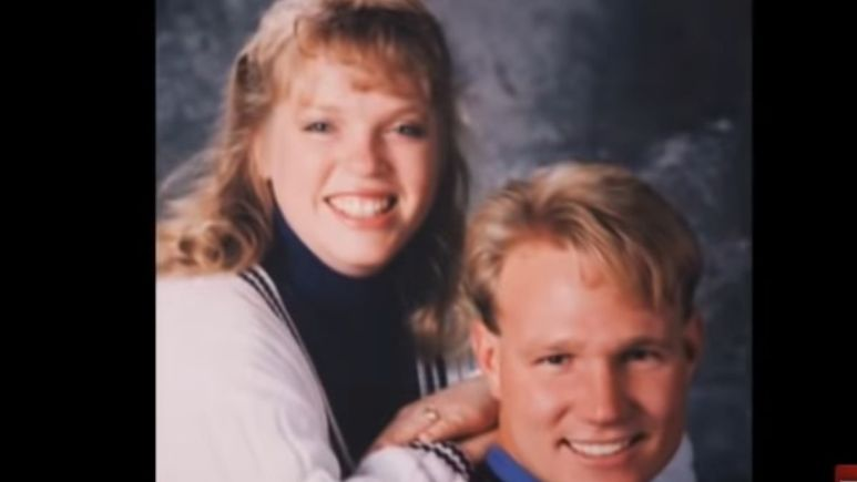 Young Janelle and Kody Brown of Sister Wives