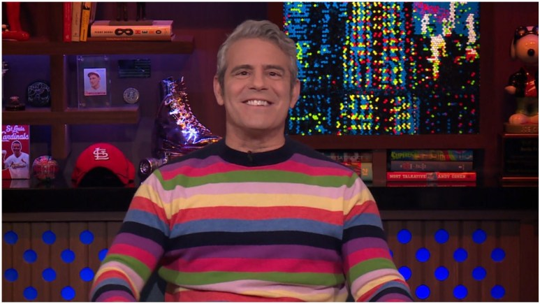 Andy Cohen hosts Watch What Happens Live.