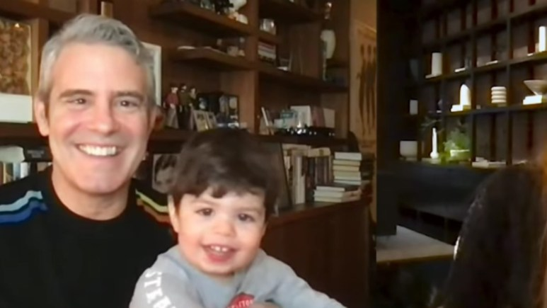 Andy Cohen and his son Ben.