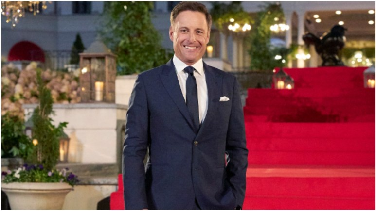 Chris Harrison hosts The Bachelor.