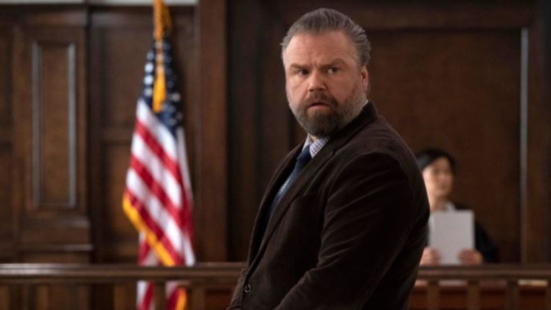 Tyler Labine as Dr. Iggy Frome in New Amsterdam