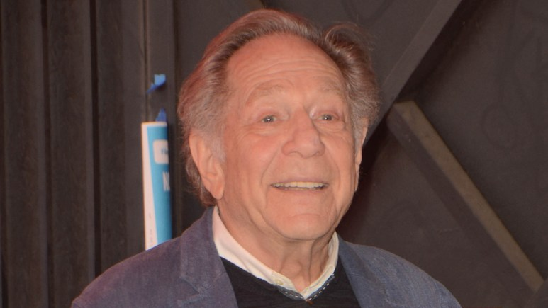 george segal receives star on hollywood walk of fame