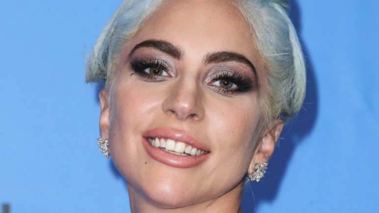 Lady Gaga at the 76th Annual Golden Globes Awards