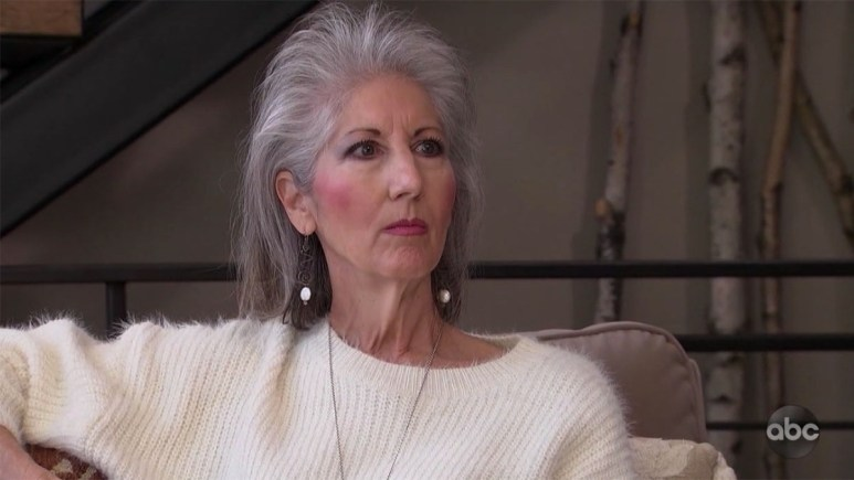 Matt James' mom on The Bachelor