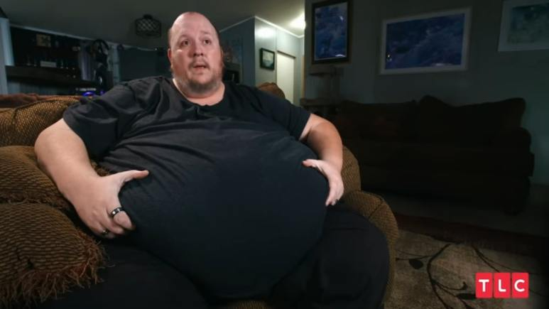 Michael Blair from his episode of My 600-lb Life.