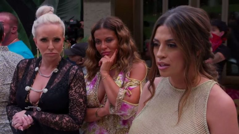 RHONJ newbie, Michelle Pais stirred by trouble by telling Jennifer Aydin that Joe Gorga owed money to her husband